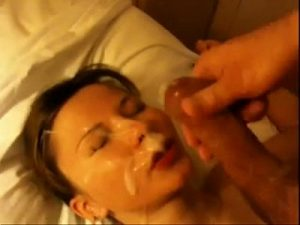Shameless Teen Cam Girl Loves To Get Her Face Covered With Cum