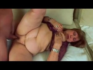 Horny Granny Getting Drilled By Her Lover On Sex Cam