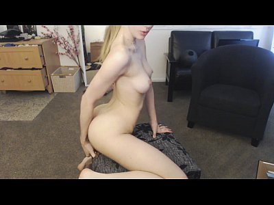 Cute Skinny Girl Rides Her Glass Dildo On Solo Live Cam