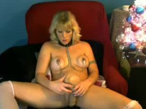 Naughty Mature Lady Skylar Plays With Her Sex Toy