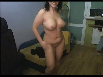 Sexy Euro Mature Woman Flory Does A Striptease Show