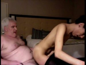 Skinny Teen Girl Fucked By A Grandpa On Live Webcam
