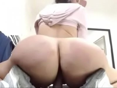 Huge Ass Slut Shows Off Her Riding Skills On Cam